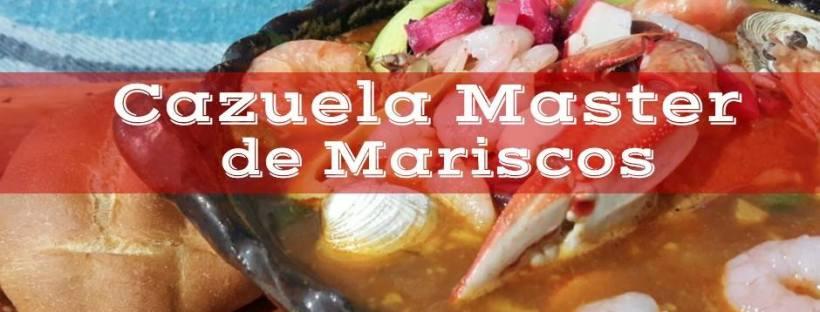 Mariscos en Querétaro. Cazuela Master de Mariscos.